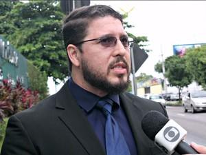 Defensor Carlos Almeida Filho (Foto: Leandro Tapajós/G1 AM)