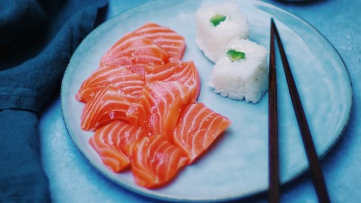 Sushi - Alimentos que mejoran la salud mental