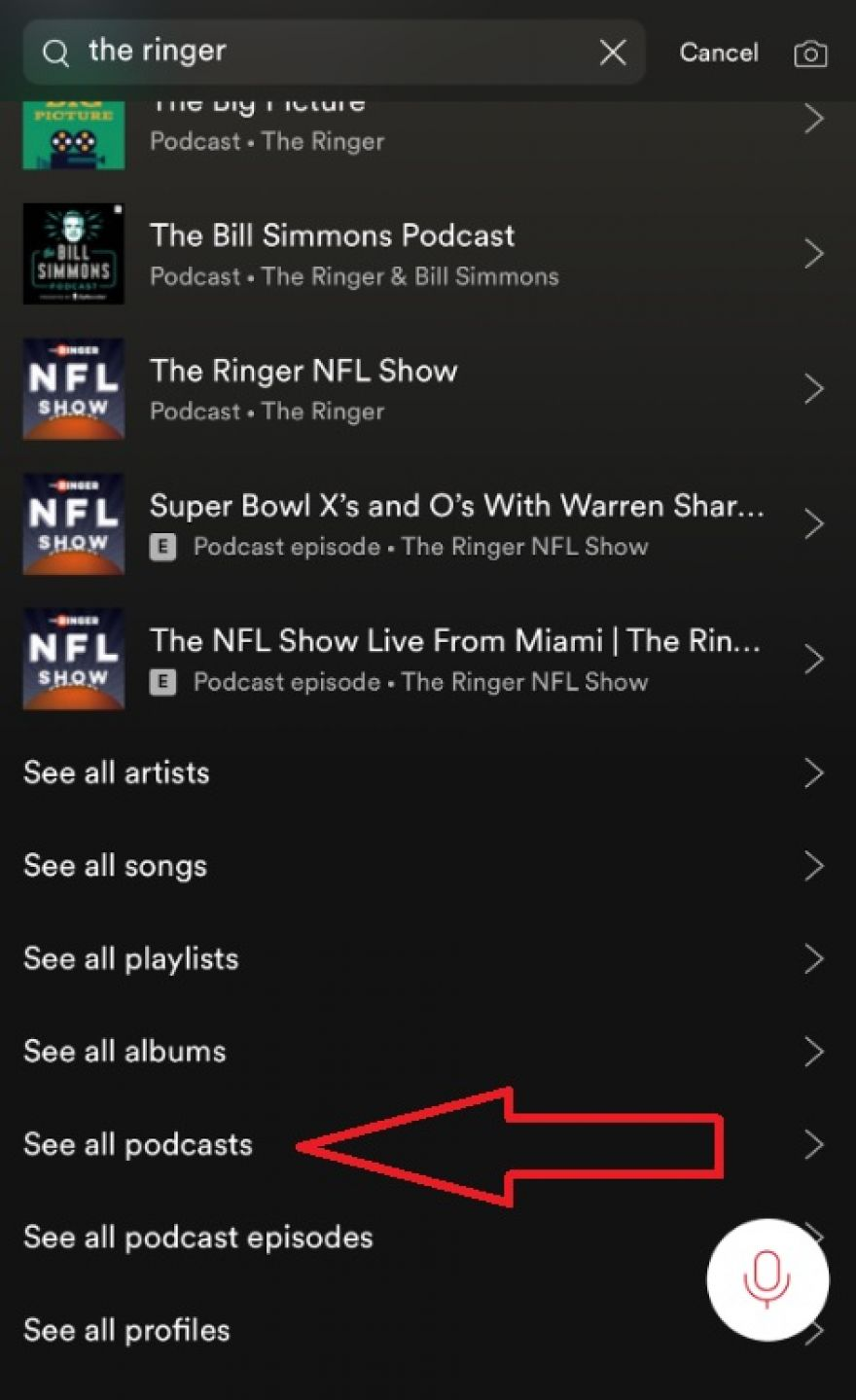 Here's how to find The Ringer's podcasts on Spotify