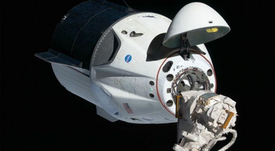 ISS Astronauts Move Crew Dragon to a New Docking Port