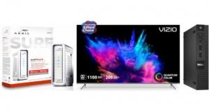 ET Deals: Vizio 65-Inch Quantum 4K TV $998, Dell Refurb. Core i3 $299, Arris DOCSIS 3.1 Cable Modem $117
