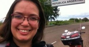 Jovem percorre mais de 8 mil km pela América do Sul com moto de 125 cc