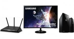 ET Deals: Samsung 32-Inch Curved 1080p Display $149, Dell Intel Core i7-8700 Desktop $699, Netgear Nighthawk R6700 Router $62