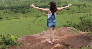 Paisagem de serra 'seduz' turistas na  fronteira de Rondônia com a Bolívia