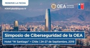 SANTIAGO, CHILE: Simposio de Ciberseguridad OEA 2019
