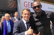 Usain Bolt lanza en París su auto y scooter eléctricos
