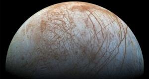 NASA Confirms Water Vapor Erupting from Europa